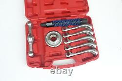 5 Jaw Universal Hub Puller Set Heavy Duty With Case