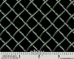 CCG UNIVERSAL 16 x 52 HEAVY DUTY WOVEN WIRE XXL GRILL GRILLE MESH SHEET SILVER