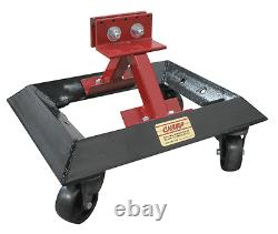 Champ Heavy Duty Universal Wheel Car Dolly with Rocker Clamp 4023-D Up to 1200 lb