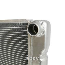 Ford Mopar Style 19x28 Aluminum Universal Radiator Heavy Duty Extreme Cooling