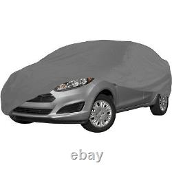HEAVY DUTY Small Universal Full Car Cover Water Rain Snow proof, UV Protection