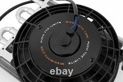 Mishimoto Heavy-Duty Transmission Cooler with Electric Fan UNIVERSAL Radiator