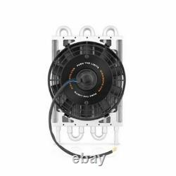 Mishimoto Universal 8 Heavy-Duty Transmission Cooler with Electric Fan