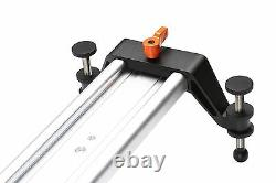 Movo T150 60 Extra-Long Heavy-Duty Motion Video Track Slider/Glider for Cameras
