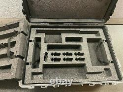 NEW Pelican 1730 Case USA Heavy Duty With Wheels Black Water Tight Lockable