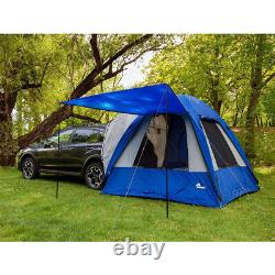 Napier Sportz Dome-To-Go Universal SUV Cargo 4 Person Camping Tent with Awning