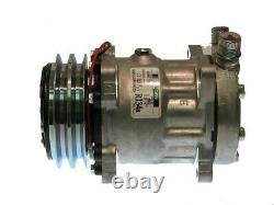 New Universal Heavy Duty OE Sanden AC Compressor SD7H15 4663 with 2A Groove 12vo