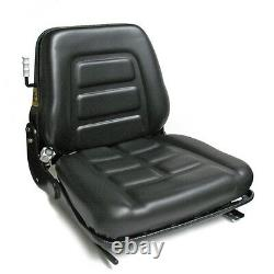 Quality Universal Suspension Seat FORKLIFT/DUMPER/MOWER/TRACTOR Heavy Duty PVC