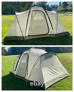 RARE The North Face TRAILHEAD 6 Camping 3 Room Family Tent Ships Worldwide TNF