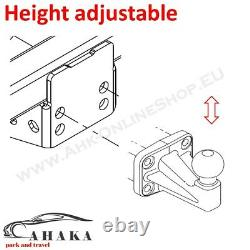 Tow Bar Ball Hitch Drop Plate Height Adjuster 5x56mm Highly Universal Heavy Duty