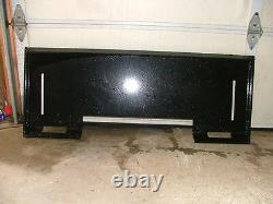 Universal 5/16 Skid Steer Attachment Mount Plate-heavy duty-fits Bobcat & more