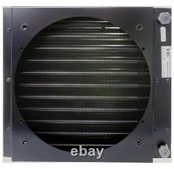 Universal Air Con Condenser With Shroud 283 x 310mm Oring Fittings- Heavy Duty