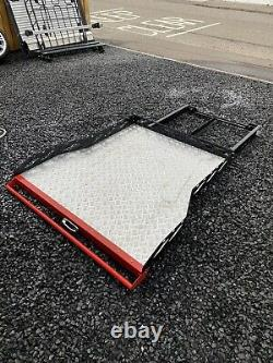 Universal Heavy Duty Load Bed Chequered Plate Sliding Tray Double Cab Pick Up