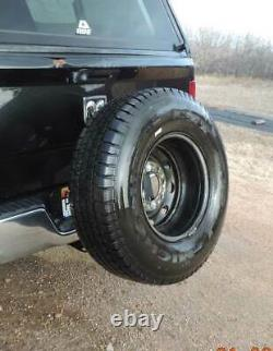 Universal Heavy Duty Receiver Hitch Spare Tire Mount Long