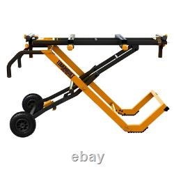 Universal Miter Saw Stand Black Power Tool Black Heavy Duty TOUGHBUILT Pedal New